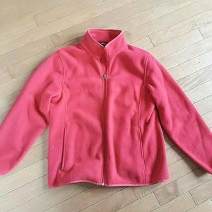 Land's End polar fleece jacket